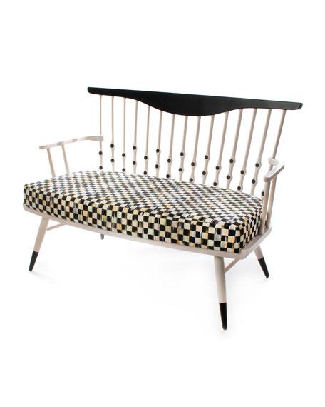 MacKenzie-Childs Musical Chairs Bench