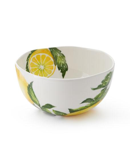 Vietri Limoni Deep Bowl