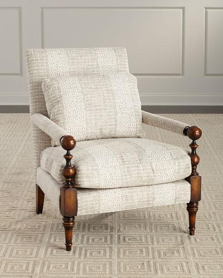 John-Richard Collection Elderwood Transitional Style Chair