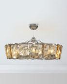 John-Richard Collection 10-Light Crystal Fandelier