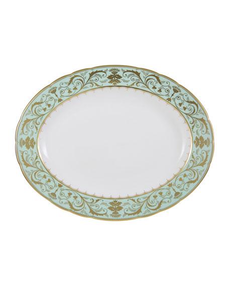 Royal Crown Derby Darley Abbey Small Oval Dish