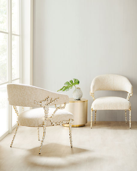 caracole Glimmer of Hope Accent Chair