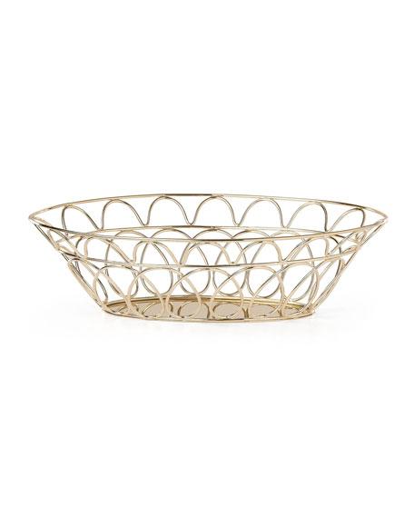 kate spade new york arch street bread basket