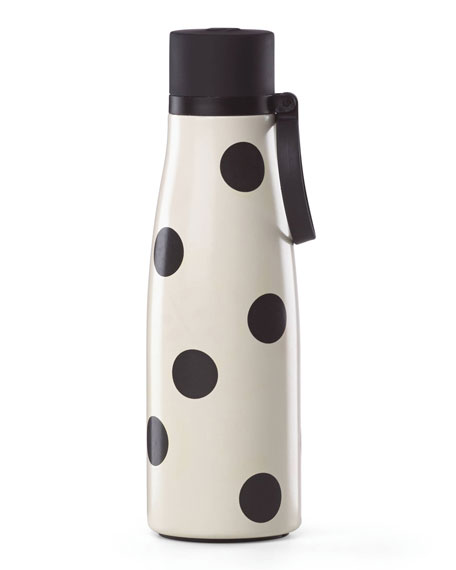kate spade new york all in good taste deco dot water bottle