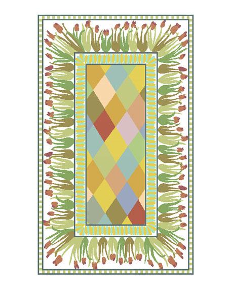 MacKenzie-Childs Poplar Ridge Rug, 3' x 5'