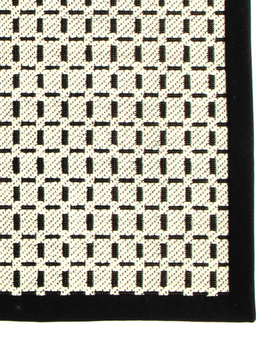 Black White Rug Neiman Marcus