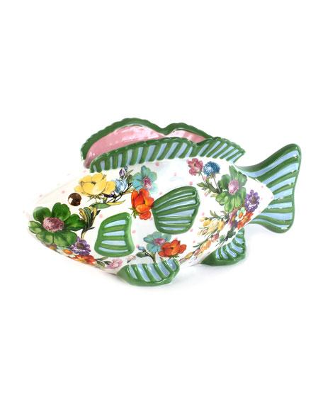 MacKenzie-Childs Flower Market Fish Planter