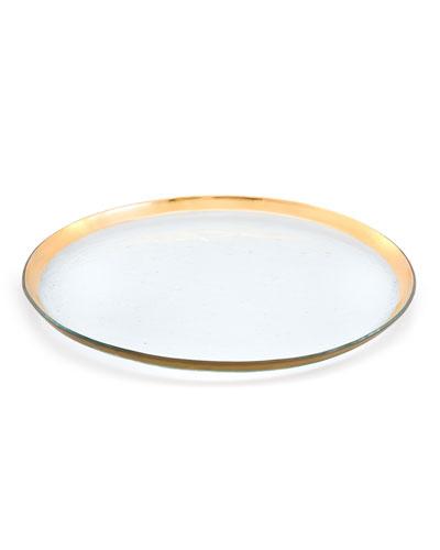 Roman Antique Round Party Platter