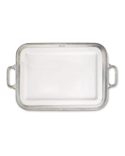 Luisa Rectangular Large Platter with Handles