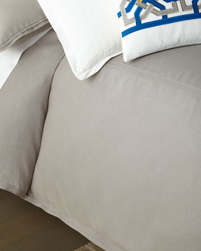 New Wedding//Honeymoon Night 3 Piece Luxurious Bedding Ivory Duvet Cover Bed Set.