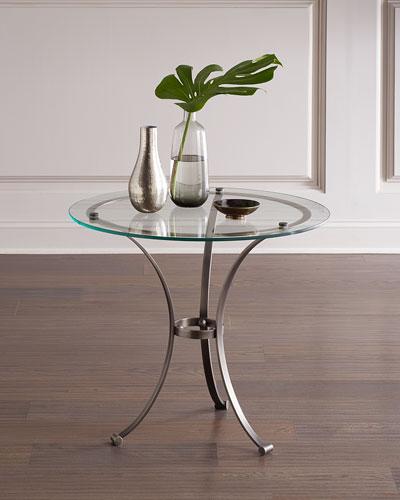 Gunmetal Tripod Side Table
