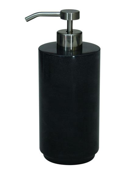 Marble Crafter Eris Collection Jet Black Soap Dispenser