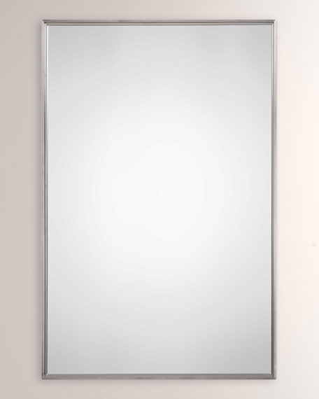 Brushed Stainless Steel Mirror