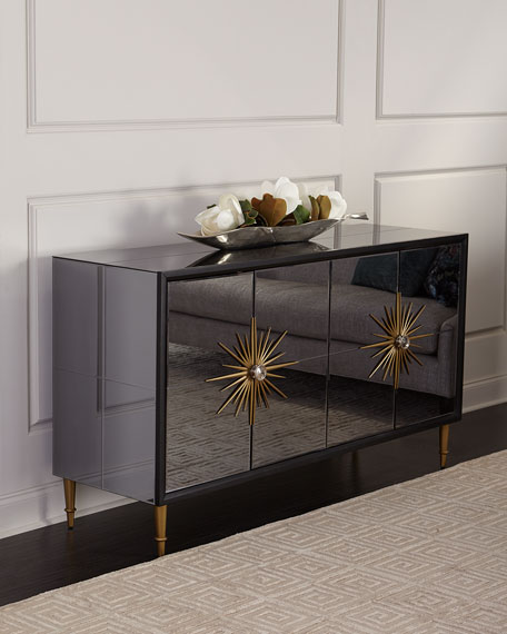 Enchanted Mirrored Console Table