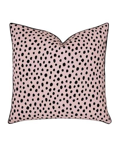 Spectator Blush Decorative Pillow