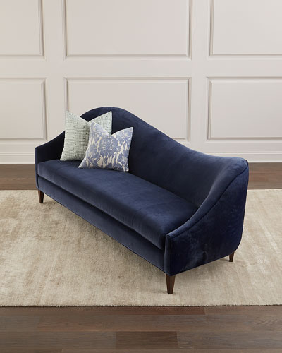 Ava Left Arm Sofa with Hide Back, 92