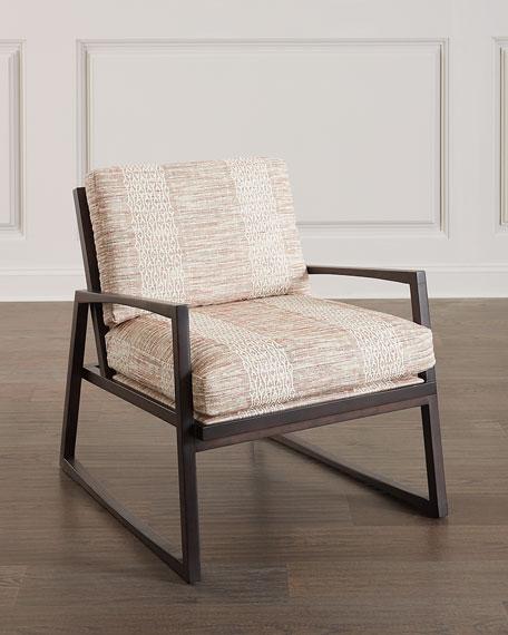 Massoud Leonidas Wood Frame Chair
