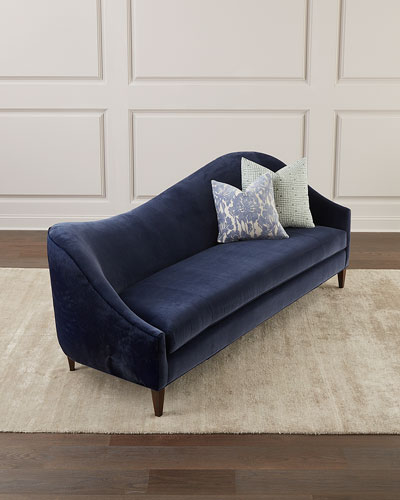 Ava Right Arm Sofa with Hide Back, 92