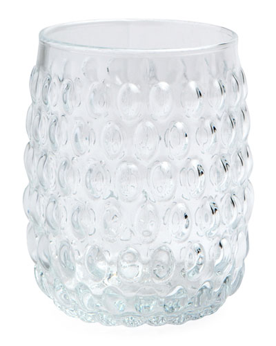 Claire Clear Tumbler Glasses, Set of 6