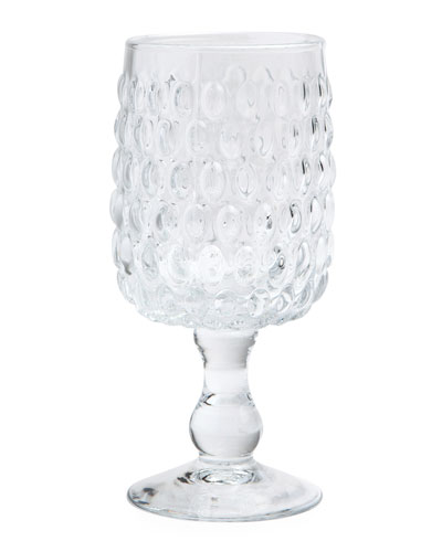 Claire Clear Wine Glasses, Set of 6