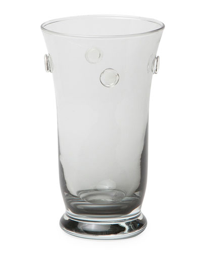 Lucia Pale Gray Highball Glasses, Set of 6