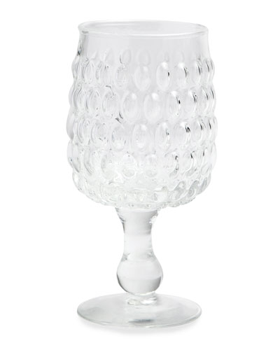 Claire Clear Water Goblets, Set of 6