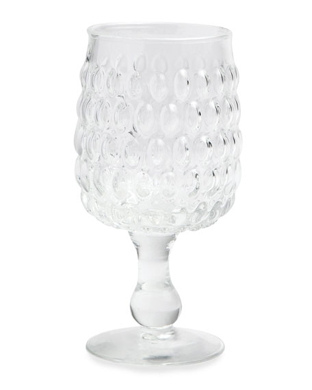 Blue Pheasant Claire Clear Water Goblets, Set of 6