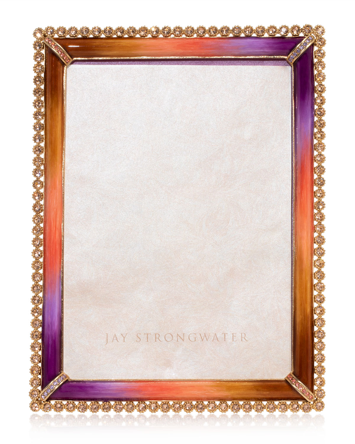 "Jay Strongwater STONE EDGE PICTURE FRAME, 5"" X 7"""