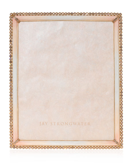 """Jay Strongwater Stone Edge Picture Frame, 8"""" x 10"""""""