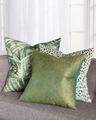 Eastern Accents Moray Sage Decorative Pillow and Matching
