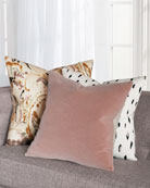 Eastern Accents Maddox Blush Decorative Pillow and Matching