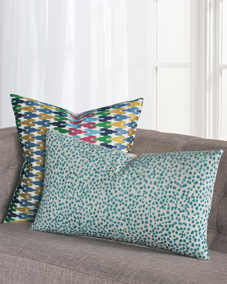 Eastern Accents Tapir Teal Decorative Pillow