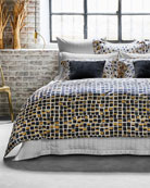 Frette at Home Mosaic King Duvet and Matching