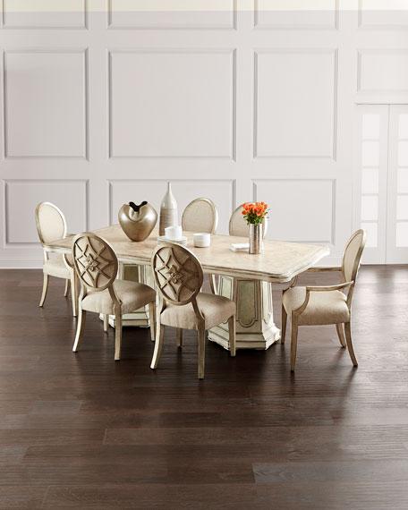 Hooker Furniture Grand Fete Rectangular Dining Table
