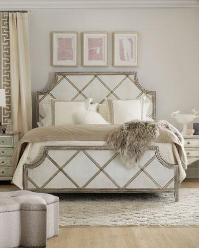 Diamont California King Panel Bed
