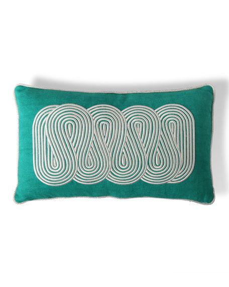 Jonathan Adler US Pompidou Path Pillow 12x20