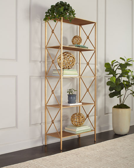 Medallion 5-Shelf Etagere
