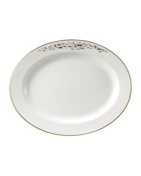 "Prouna Diana 14"" Oval Platter"
