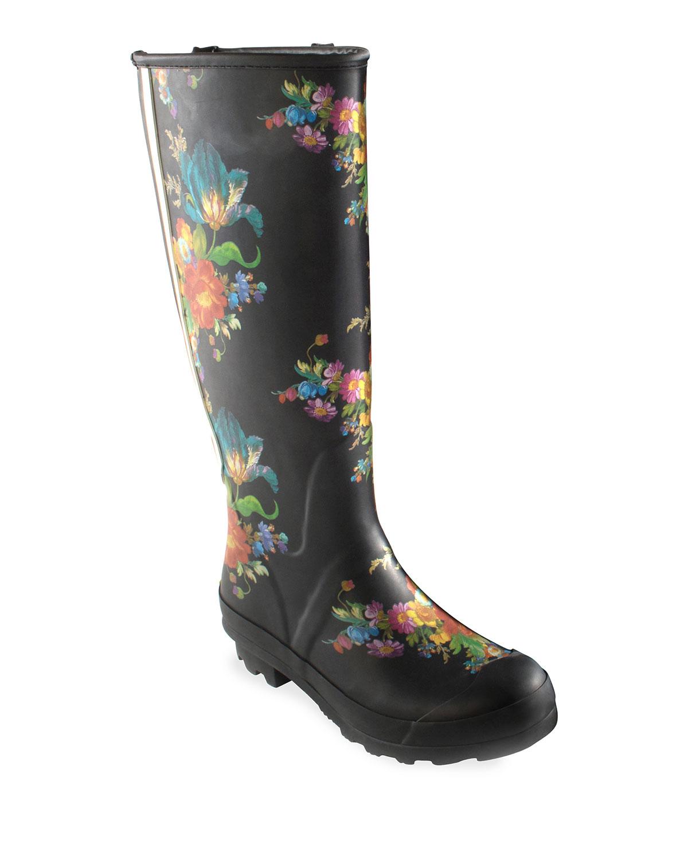 Flower Market Garden/Rain Boots