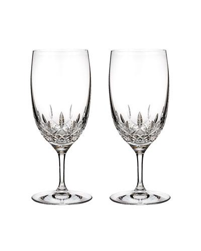 Lismore Essence Iced Beverage Glasses, Set of 2