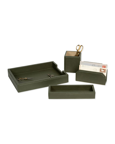 Pigeon and Poodle Asby Forest Desk Accessory Set