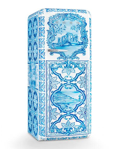 Smeg Dolce & Gabbana x SMEG Majolica Refrigerator