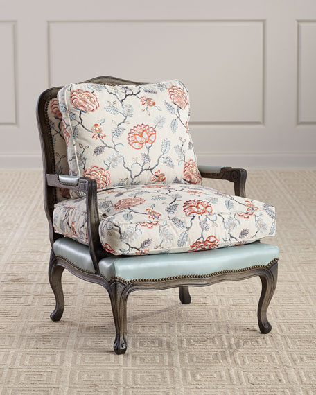 Old Hickory Tannery Bennington Bergere Chair