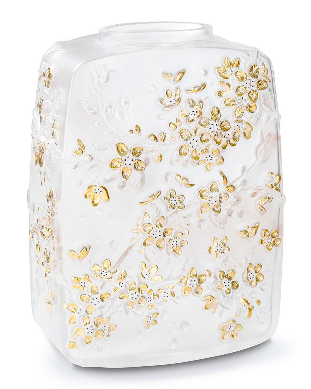 Lalique Clothing FLEURS DE CERISIER VASE