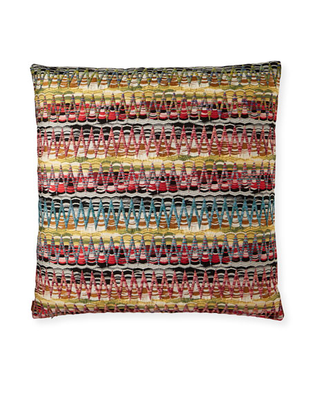 "Missoni Home Yalata Decorative Pillow, 24"""