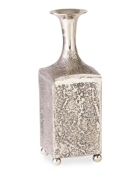 William D Scott Aluminum Bottle Vase - Medium