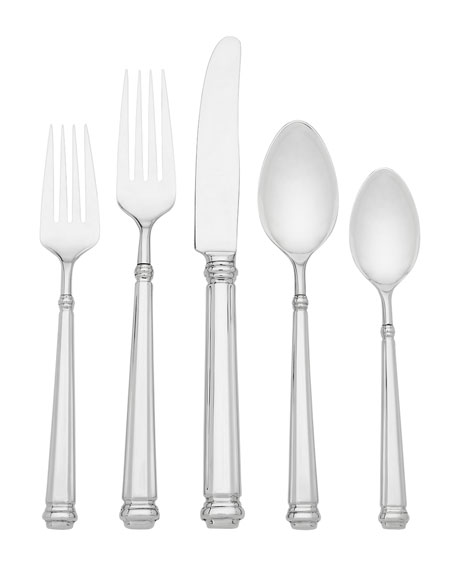 kate spade new york abington square 5-piece flatware set