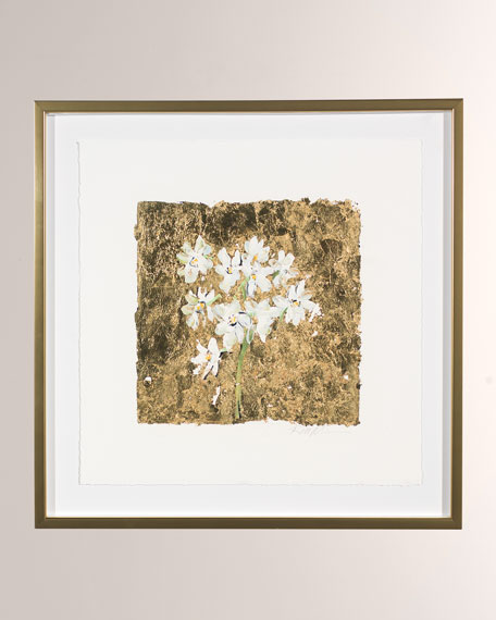 """RFA Fine Art """"Gold and Narcissus"""" Print Art by Robert Robinson"""