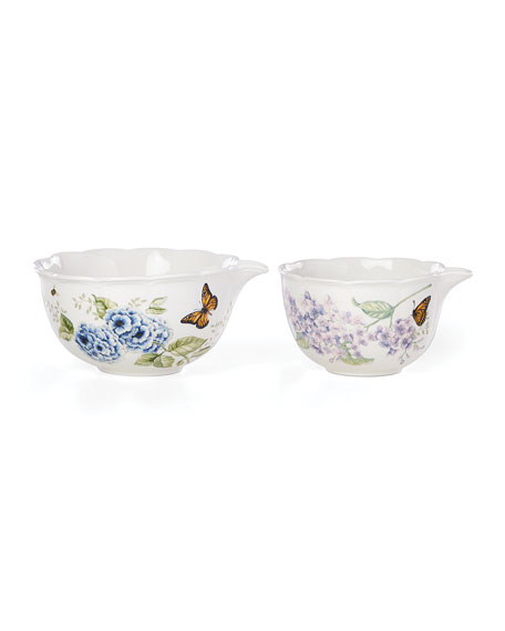 Lenox Porcelain Mixing Bowls, Set of 2