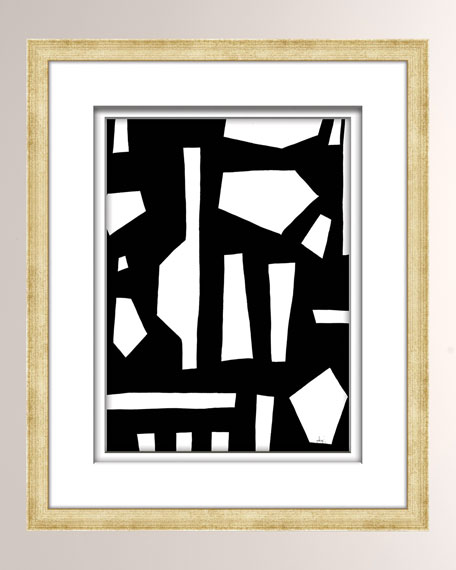 William D Scott Black/White Abstract Art - 5